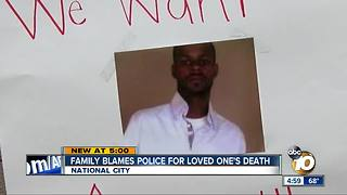Family blames police for loved one's death