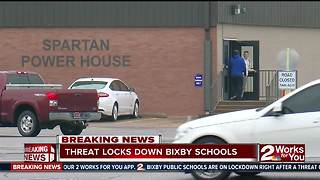 Threat locks down Bixby Schools - Video