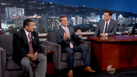 Jack Vale on Jimmy Kimmel Live