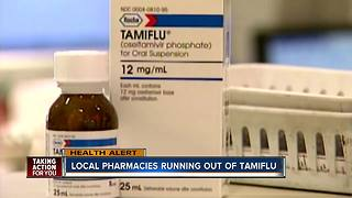 Tamiflu shortage reported in Tampa Bay Area - Video