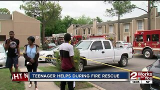 Victims displaced in South Tulsa apartment fire