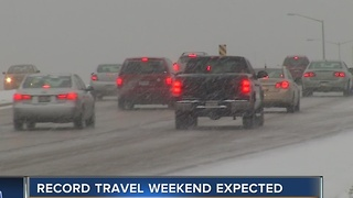 Record weekend travel expected