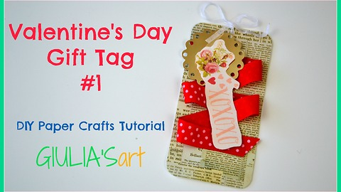 How to make Valentine's Day gift tags