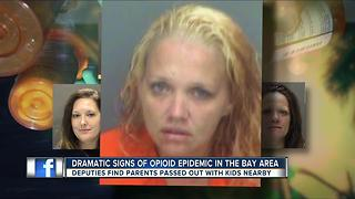 Dramatic signs of Opioid epidemic in the Bay area - Video