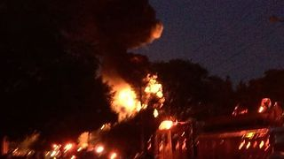 DTE Energy Substation in Plymouth Catches Fire, Knocks Out Power to Thousands - Video