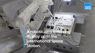 Robotic Arm to the International Space Station