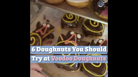 6 Doughnuts You Should Try At Voodoo Doughnuts