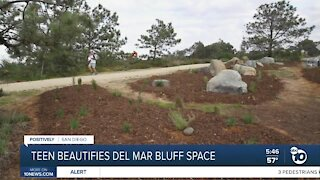 North County teen aims to preserve plants along Del Mar bluffs