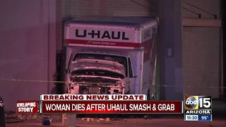NEW: Woman ID'd after being hit, killed by U-Haul - Video