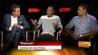 Hollywood Happenings: Ben O'Toole, Laz Alonso, and Tyler James Williams talk Detroit - Video