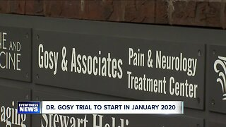 Dr. Eugene Gosy trial to start in January 2020