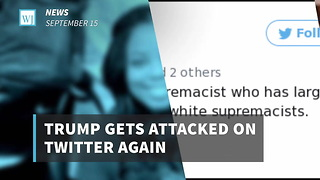 Trump Attacked On Twitter Again - Video