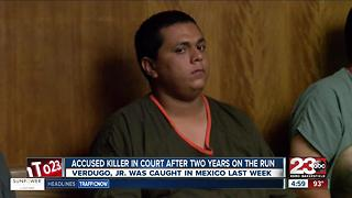 Accused killer in court after two years on the run - Video