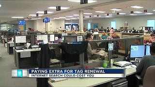 Paying extra for tag renewal - Video