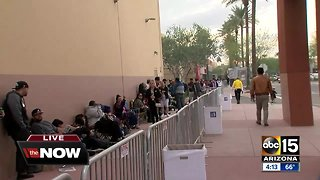 Holiday shoppers already camping out for Black Friday deals