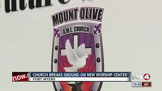 Church Breaks Ground on New Worship Center - Video