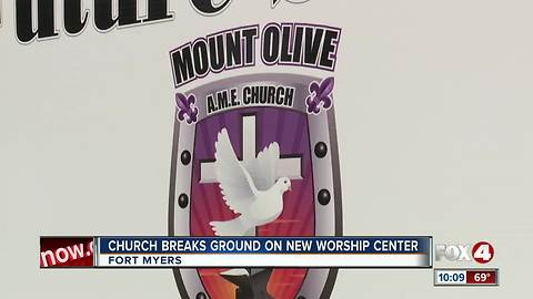 Church Breaks Ground on New Worship Center