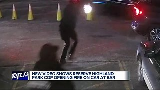 New video shows reserve Highland Park officer opening fire on car at bar