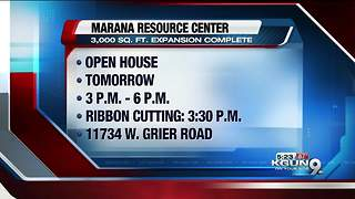 Community Food Bank Marana Resource Center open house - Video