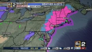 Winter Storm Watch - Video