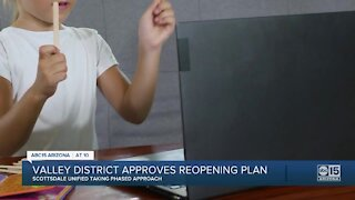 Valley district approves reopening plan