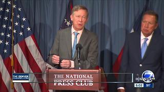 Hickenlooper comments on health care process show some of disconnect between parties - Video