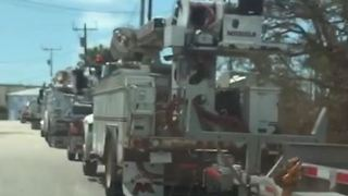 Residents Return to Upper Florida Keys After Irma Evacuations - Video