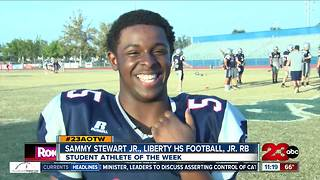 Male Athlete of the Week: Sammy Stewart Jr. - Video