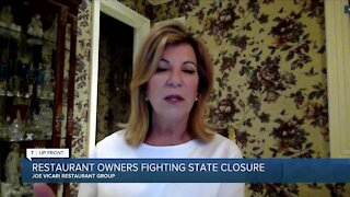 Restaurant owners fighting state closure