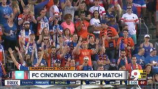 FC Cincinnati ready to play New York Red Bulls - Video