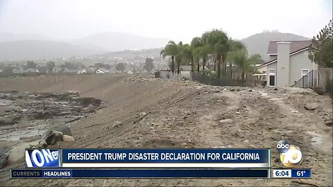 President Trump issues disaster declaration for 17 counties