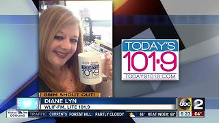 Good morning from Diane Lyn of Today's Lite 101.9 FM - Video