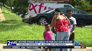 Mother speaks out about slain son