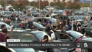 Presidents in South Florida: Trump and Obama coming to town