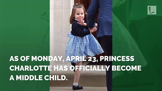 While Kate Gave Birth To Royal Baby, Princess Charlotte Made History And No One Realized - Video
