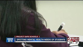 Spotting mental health needs in students