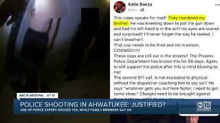 Experts argue the police shooting in Ahwatukee is justified