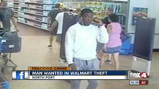 North Port Police search for Walmart thief - Video