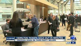Tickets to see 'Hamilton' in Denver sell out after massive demand - Video