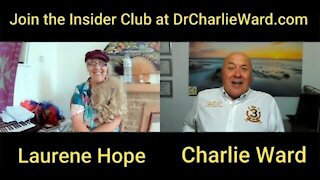 LAURENE HOPE DISCUSSES THE LATEST UPDATES WITH CHARLIE