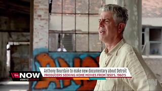 Anthony Bourdain to make new documentary about Detroit - Video
