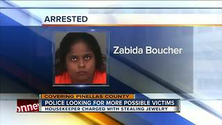 Largo housekeeper arrested, accused of stealing jewelry from assisted living facility - Video