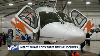 Mercy flight getting new helicopters - Video