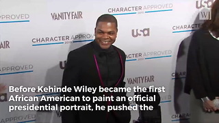 Obama's Official Portrait Artist Once Painted Black Women Beheading White Women - Video