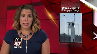 Three people charged with trying to use a drone to smuggle contraband into state prison - Video