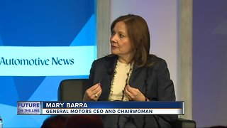 General Motors CEO Mary Barra holding private meetings