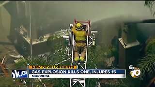 Murrieta gas explosion kills one, injures 15