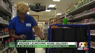 Kroger officially offering ClickList home delivery in Greater Cincinnati - Video