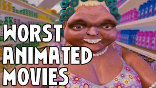 10 Worst Animated Movies Of All Time - Video