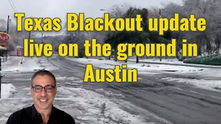 Texas Blackout update live on the ground in Austin